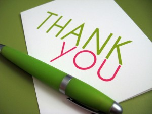 Thank-You-green pen