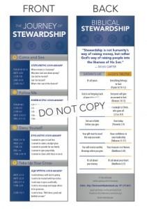 stewardship bookmark