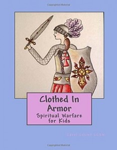 clothed in armor