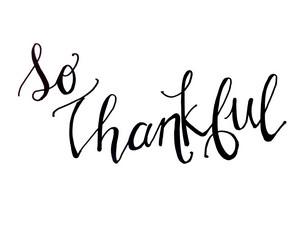 13) We're Grateful for…